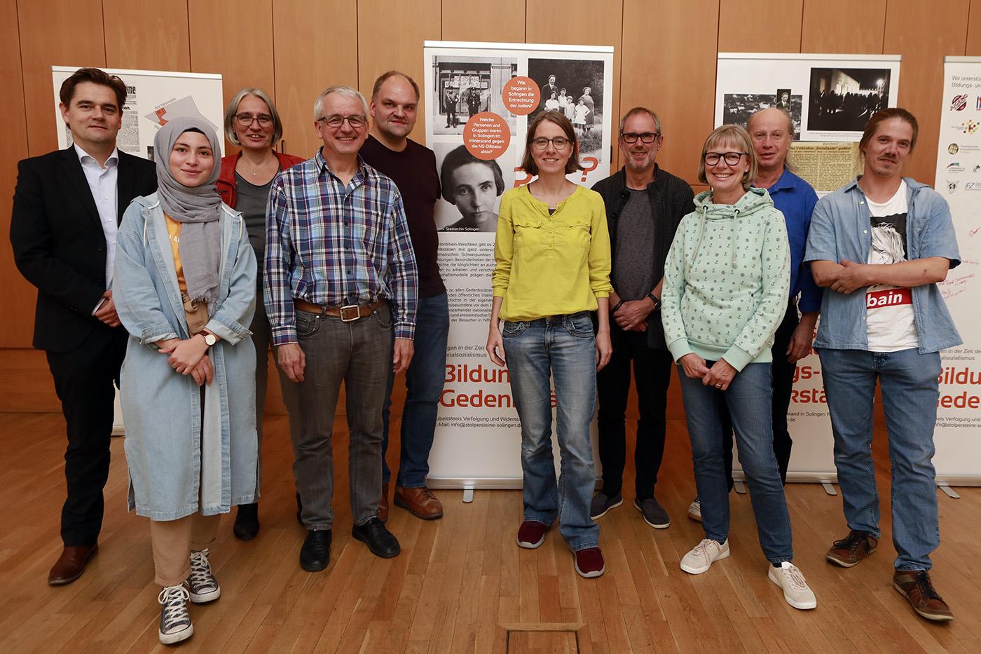 """Verein """"Bildungs- und Gedenkstätte Max-Leven-Zentrum Solingen"""" gegründet"""