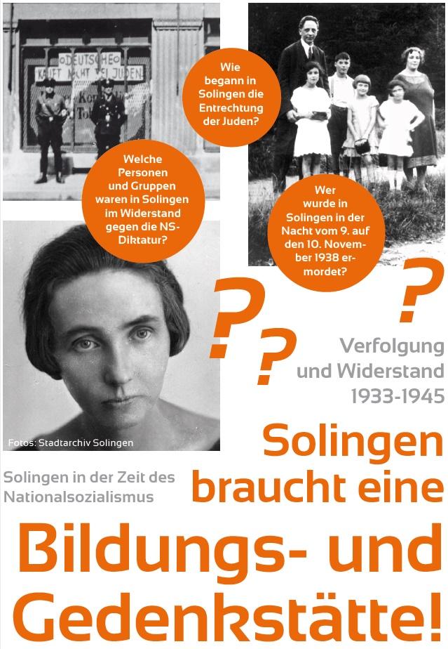 """Einladung zum Runden Tisch """"Bildungs- und Gedenkstätte"""" am 4. Mai 2019"""