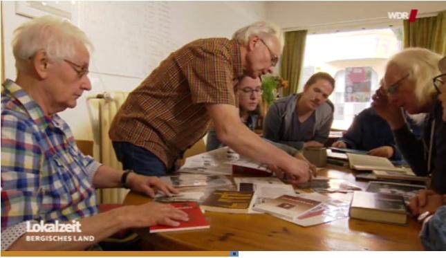 Initiative für Gedenkstätte in der WDR Lokalzeit Bergisches Land