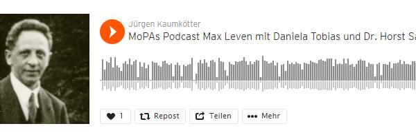 Podcast zu Max Leven