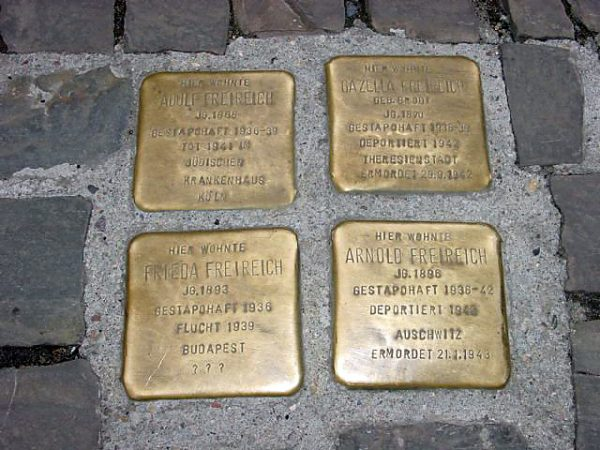 #closedbutopen Pogrom am Pfaffenberger Weg