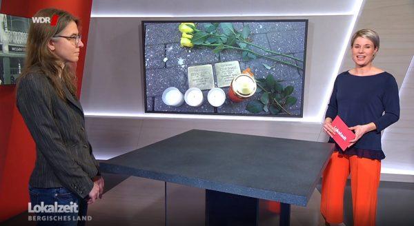 WDR Lokalzeit zum Gedenktag an die Opfer des Nationalsozialismus