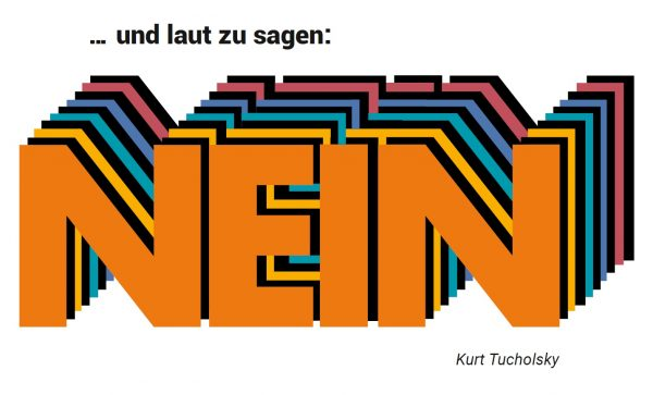 """Eröffnung der Ausstellung """"… und laut zu sagen: Nein."""" am 8. Mai 2021"""