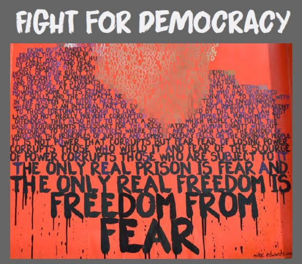 "Bildungsreihe ""Fight for Democracy"""