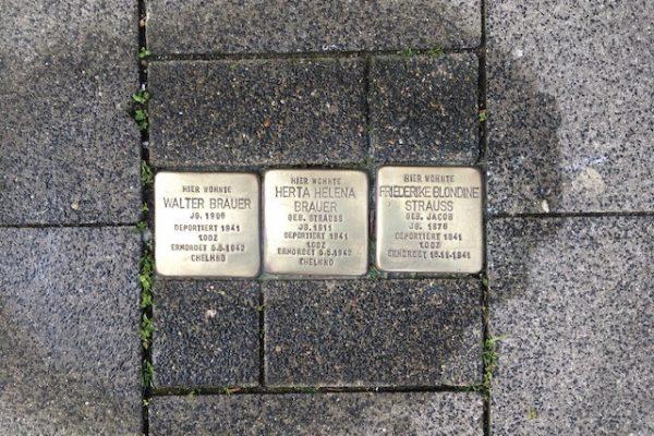 Gedenken an 80. Jahrestag des Pogroms am Pfaffenberg
